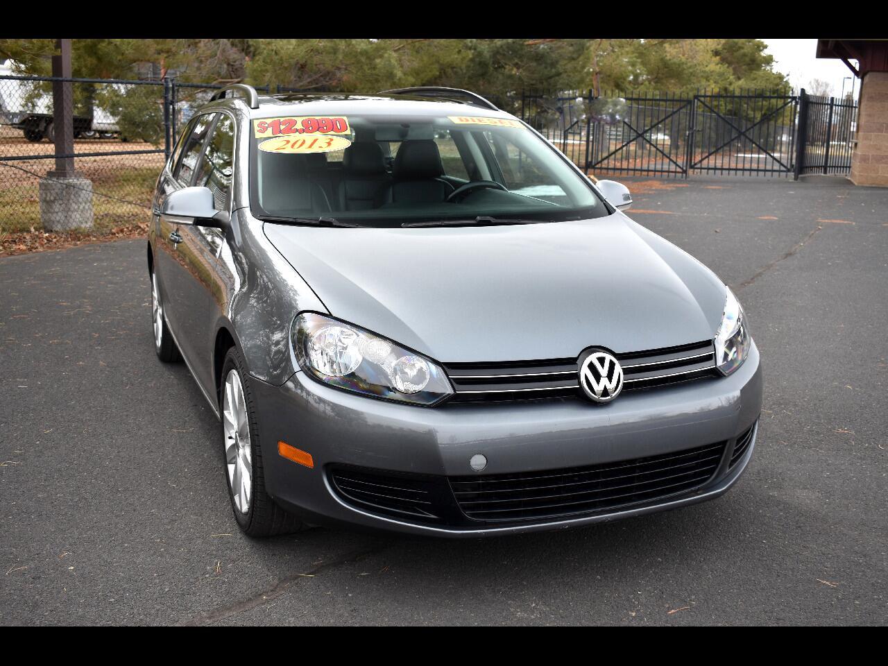 2013 Volkswagen Jetta SportWagen 4 DR DSG TDI ***DIESEL***ONE OWNER***