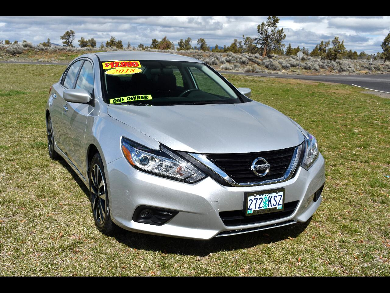2018 Nissan Altima 2.5 SV SEDAN **ONE OWNER**