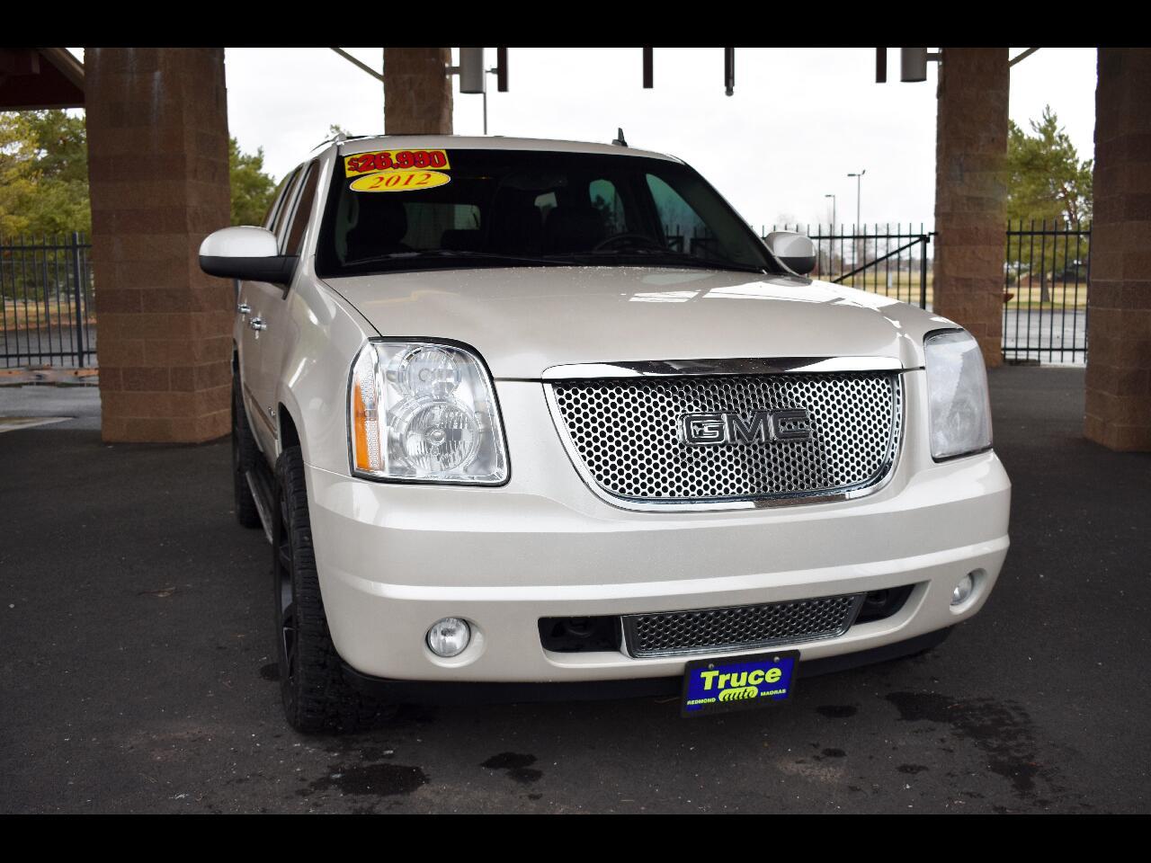 2012 GMC Yukon AWD 4 DR 1500 DENALI ***LOW MILES***