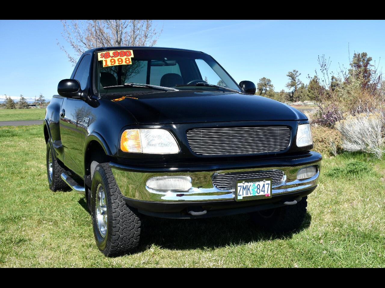 1998 Ford F-150 Reg Cab Stepside 4WD XLT ***LOW MILES***