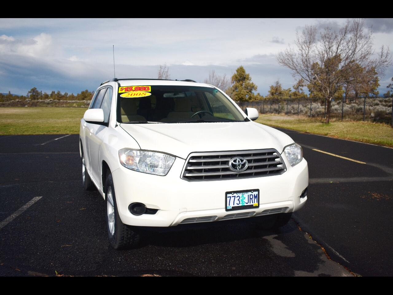 2008 Toyota Highlander 4dr V6 4WD w/3rd Row***LOW MILES**