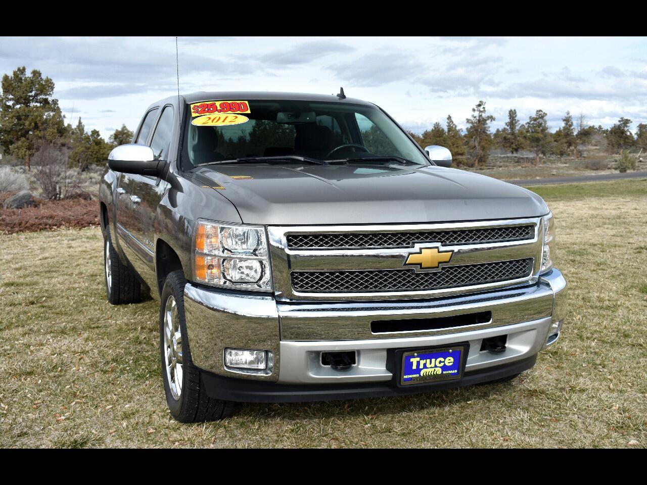 """2012 Chevrolet Silverado 1500 4WD CREW CAB 143.5"""" LT **LOW MILES**"""