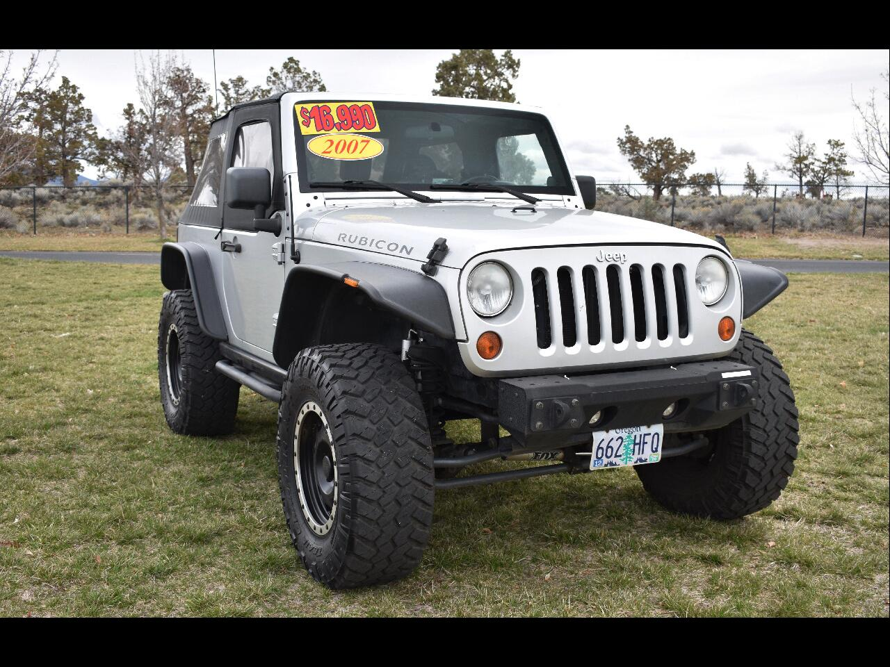 2007 Jeep Wrangler 4WD 2DR Rubicon ***LOW MILES***