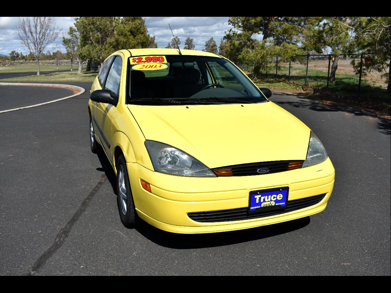 2003 Ford Focus 3dr Cpe ZX3**LOW MILES**