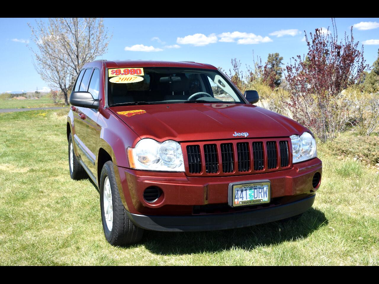 2007 Jeep Grand Cherokee 4WD LAREDO **LOW MILES**
