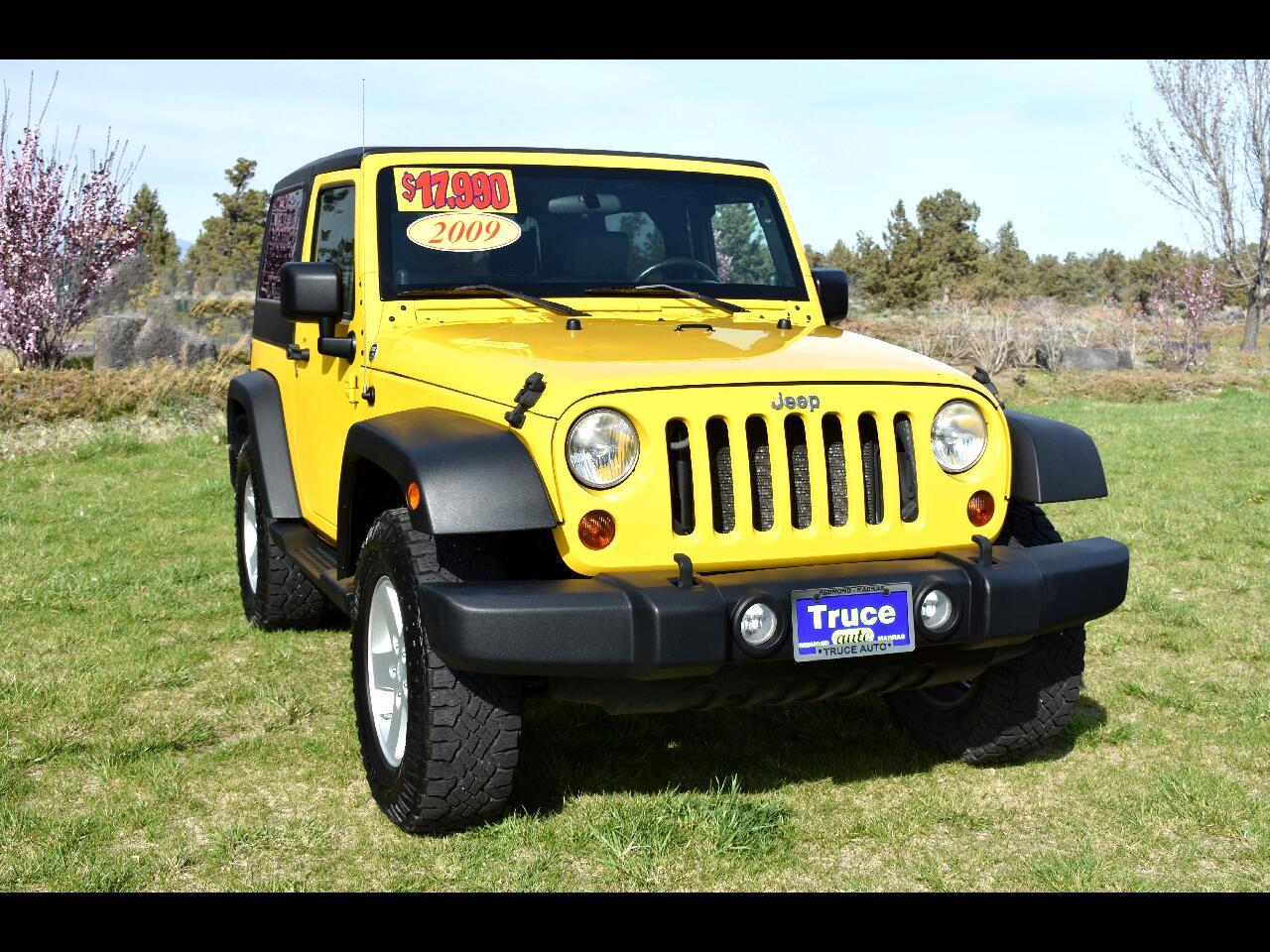 2009 Jeep Wrangler 4WD 2dr X