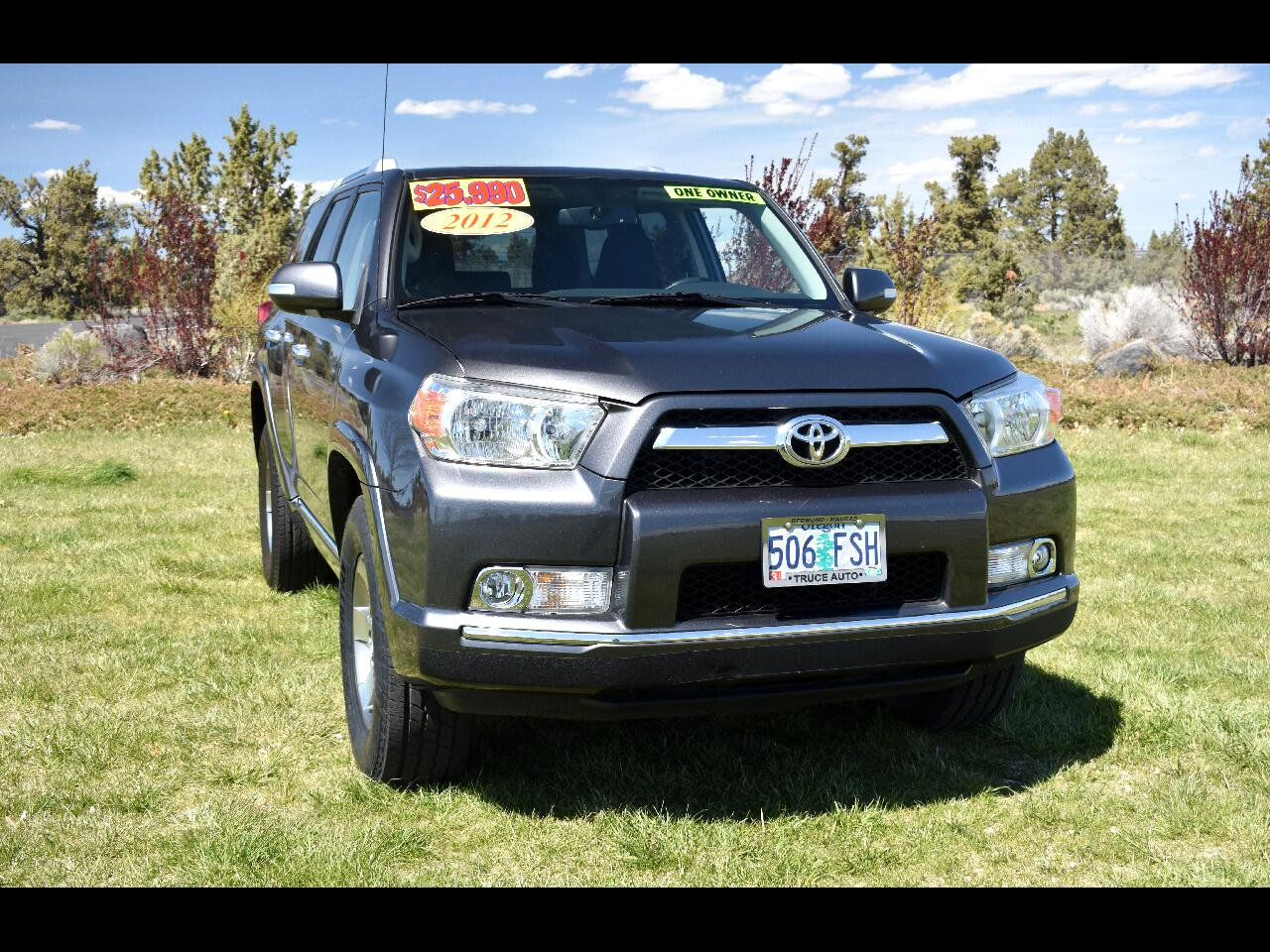 2012 Toyota 4Runner 4WD SR5 **ONE OWNER** **LOW MILES**