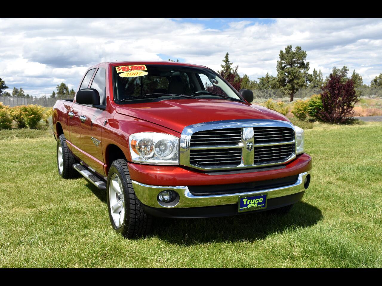 2007 Dodge Ram 1500 4WD QUAD CAB SLT***MANUAL***