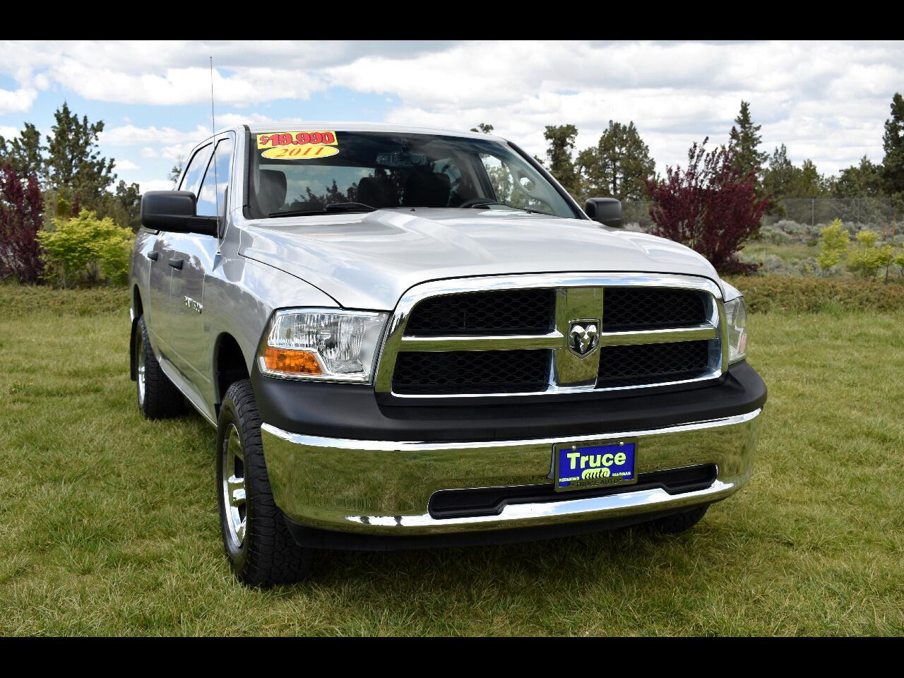 2011 RAM 1500 CREW CAB ST **LOW MILES**