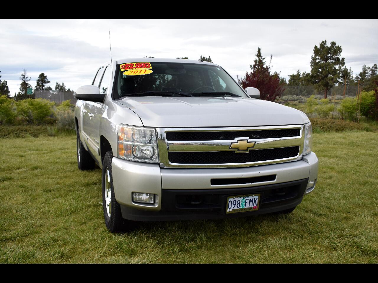 2011 Chevrolet Silverado 1500 4WD CREW CAB LTZ **LOW MILES**