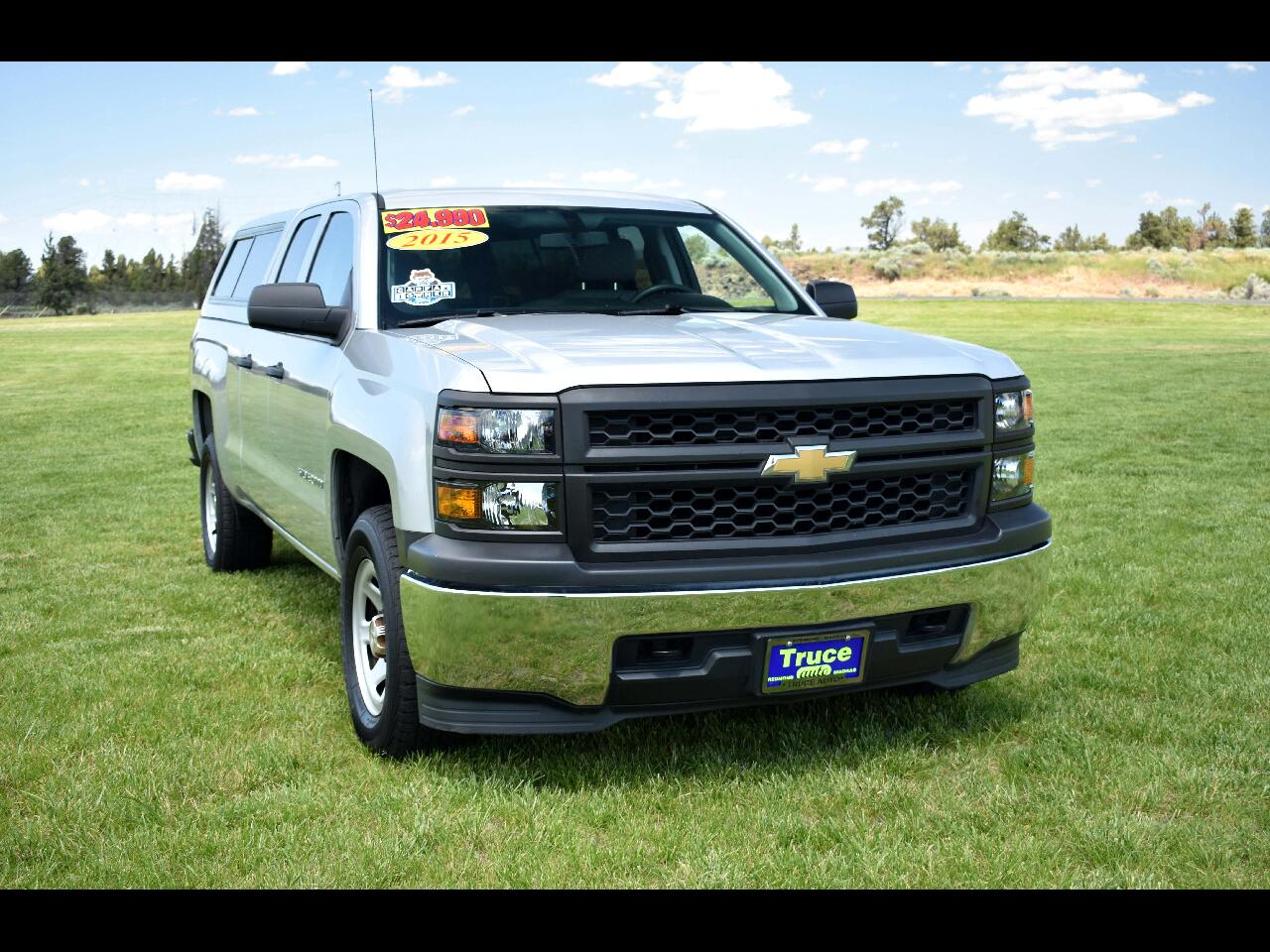2015 Chevrolet Silverado 1500 DOUBLE CAB WORK TRUCK *ONE OWNER* LOW MILES*