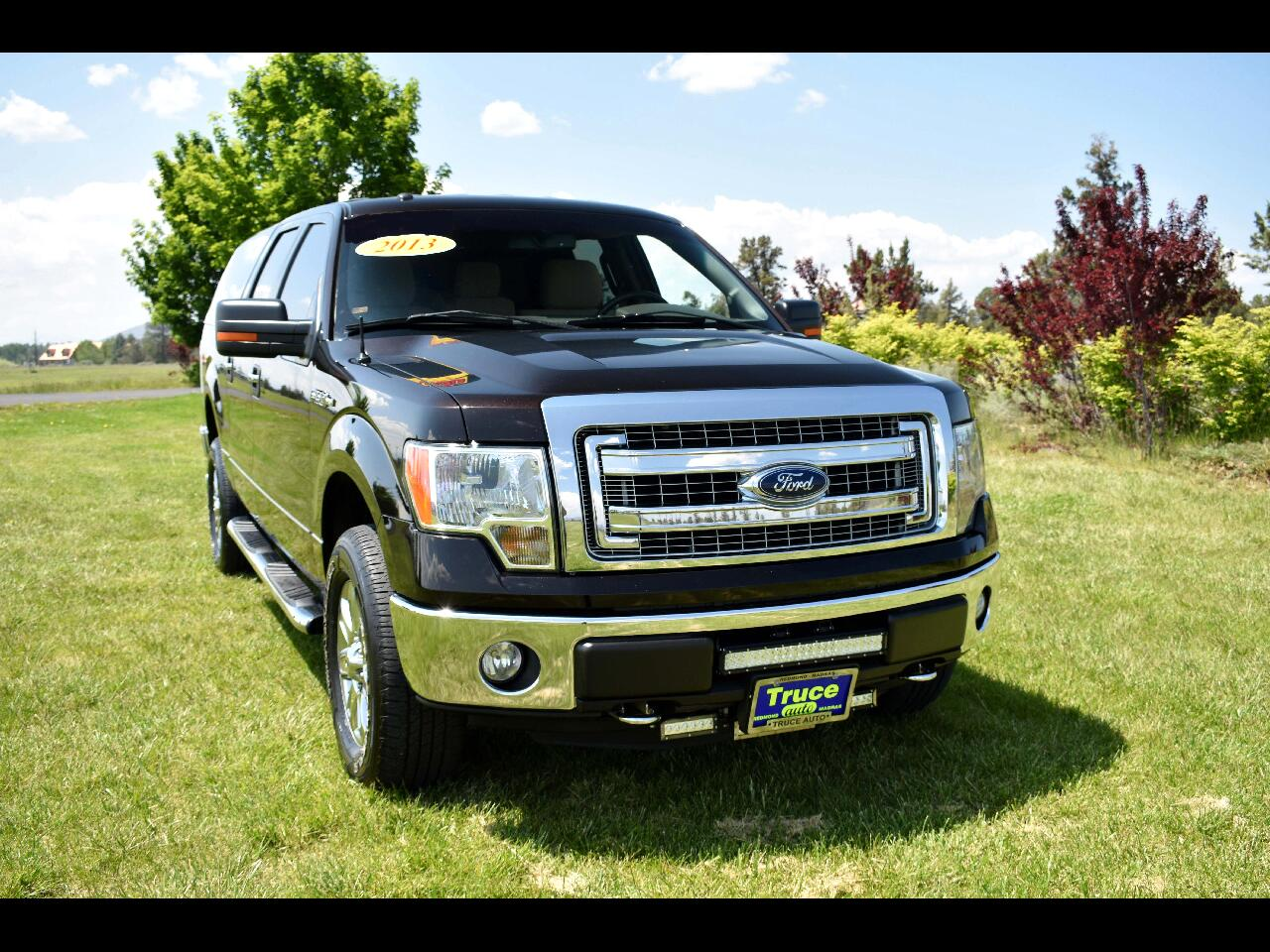 2013 Ford F-150 4WD SUPERCREW XLT **LOW MILES**