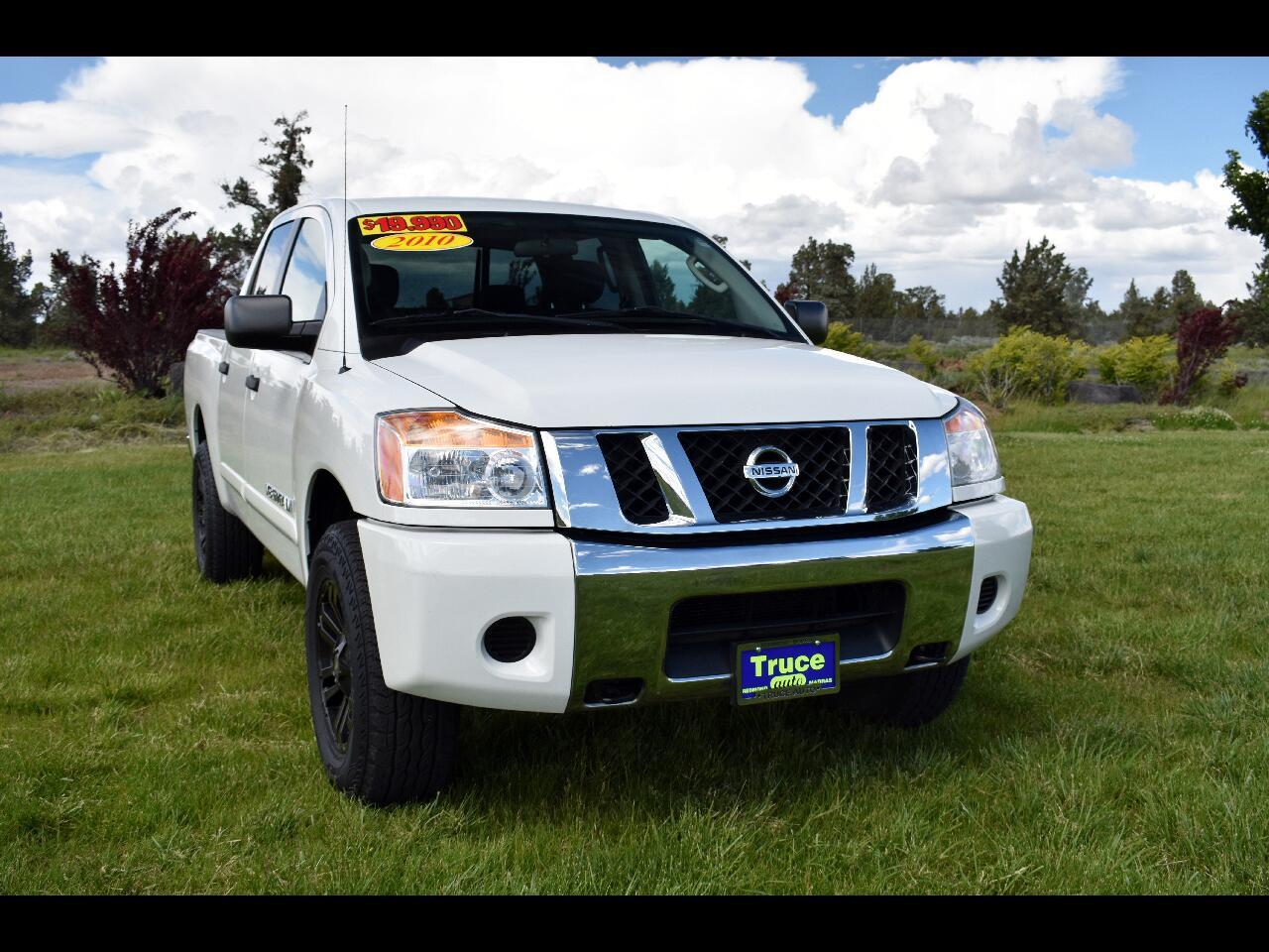 2010 Nissan Titan CREW CAB SWB SE **LOW MILES**