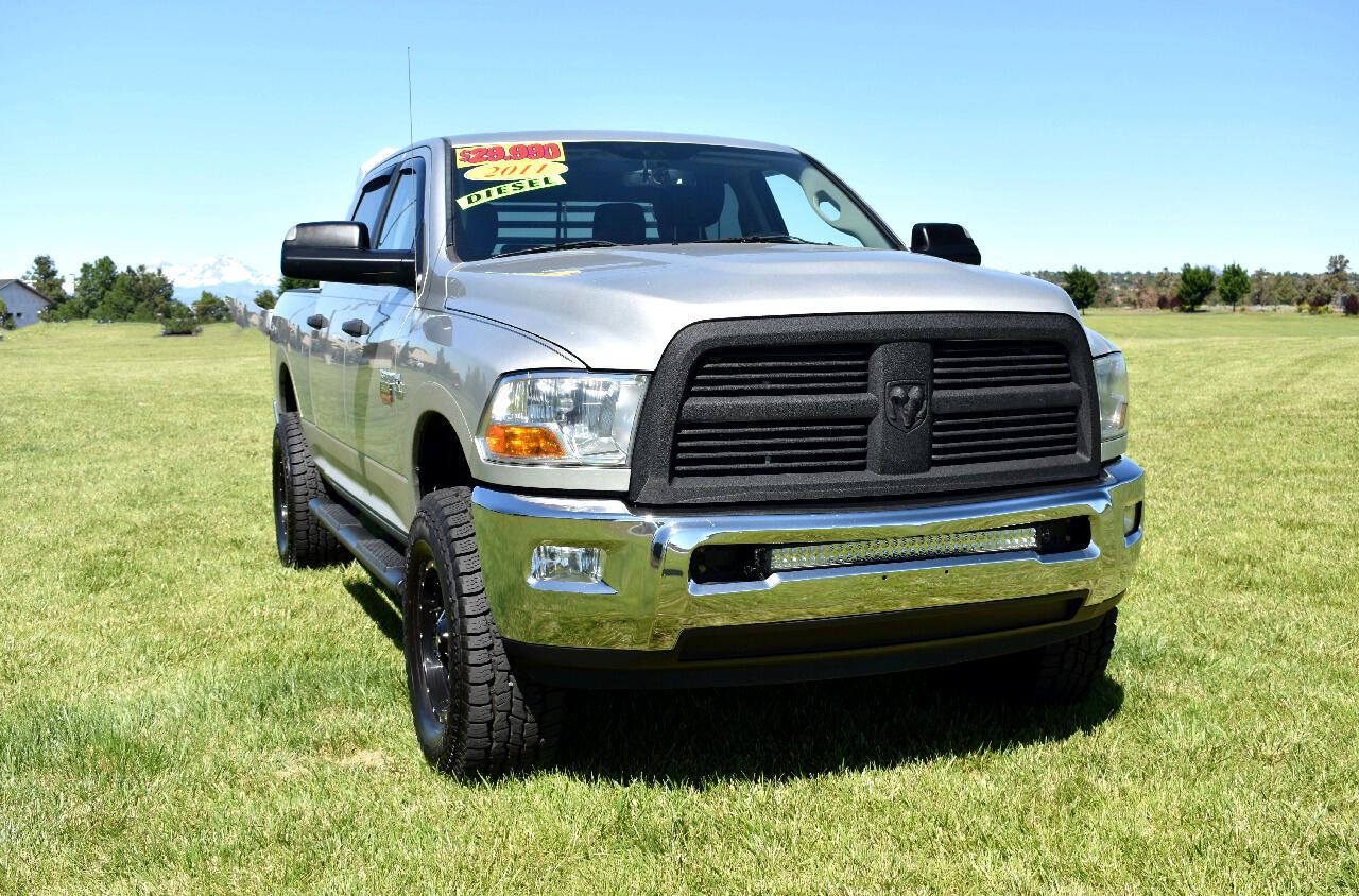 2011 RAM 3500 CREW CAB SLT***DIESEL***LOW MILES***