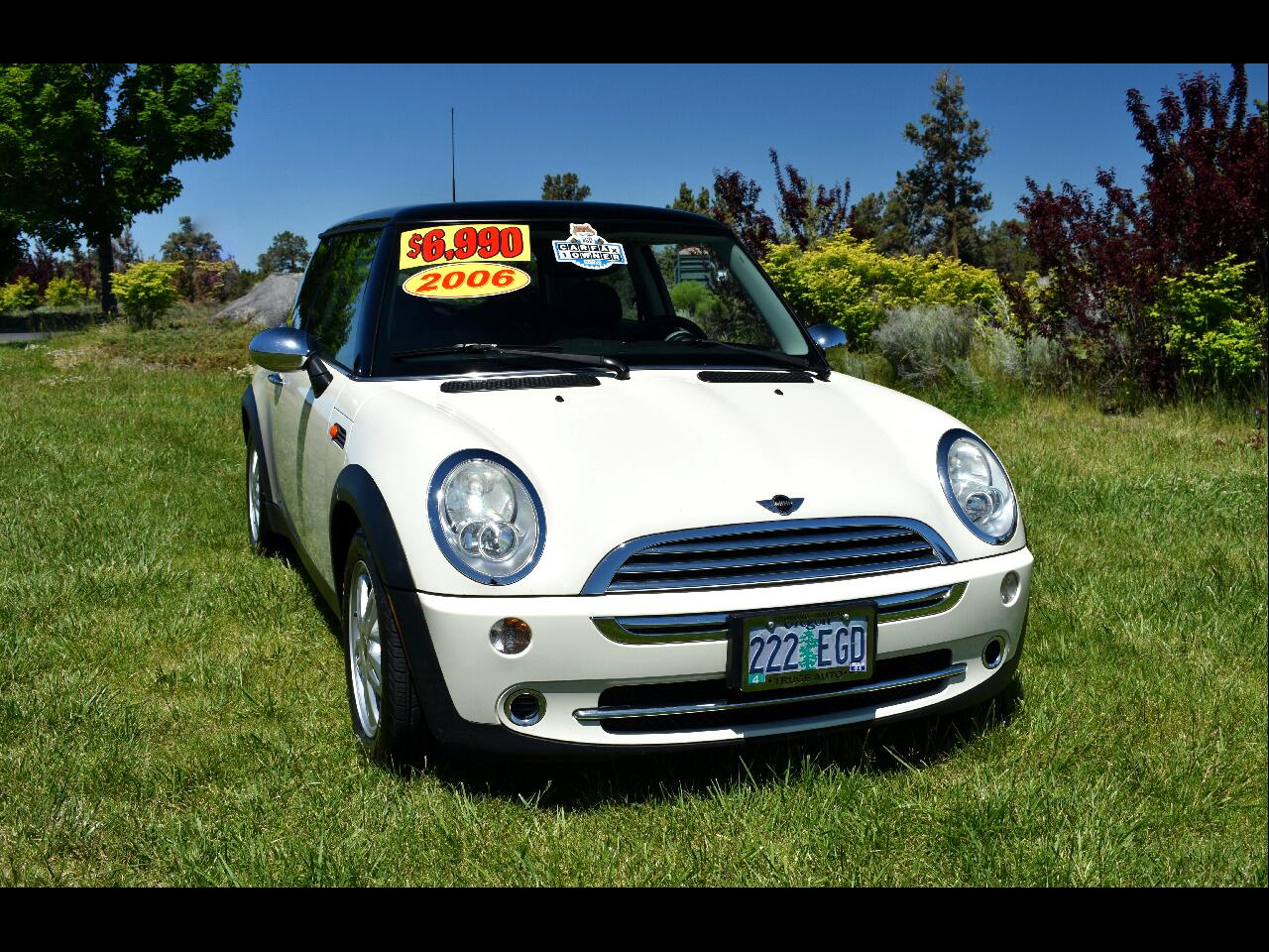 2006 MINI Cooper Hardtop 2DR CPE **ONE OWNER** **LOW MILES**