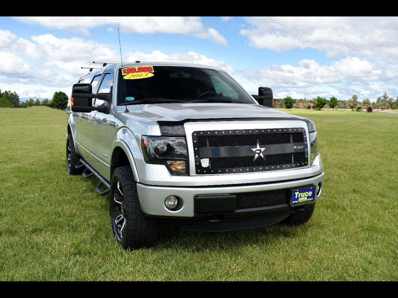 "2013 Ford F-150 4WD SuperCrew 145"" FX4**LOW MILES**"