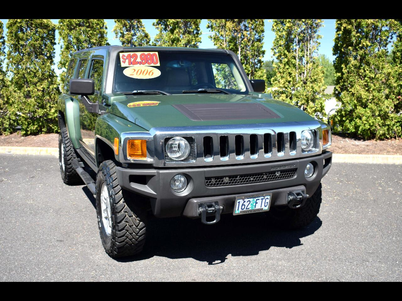 2006 HUMMER H3 4dr 4WD SUV**LOW MILES**