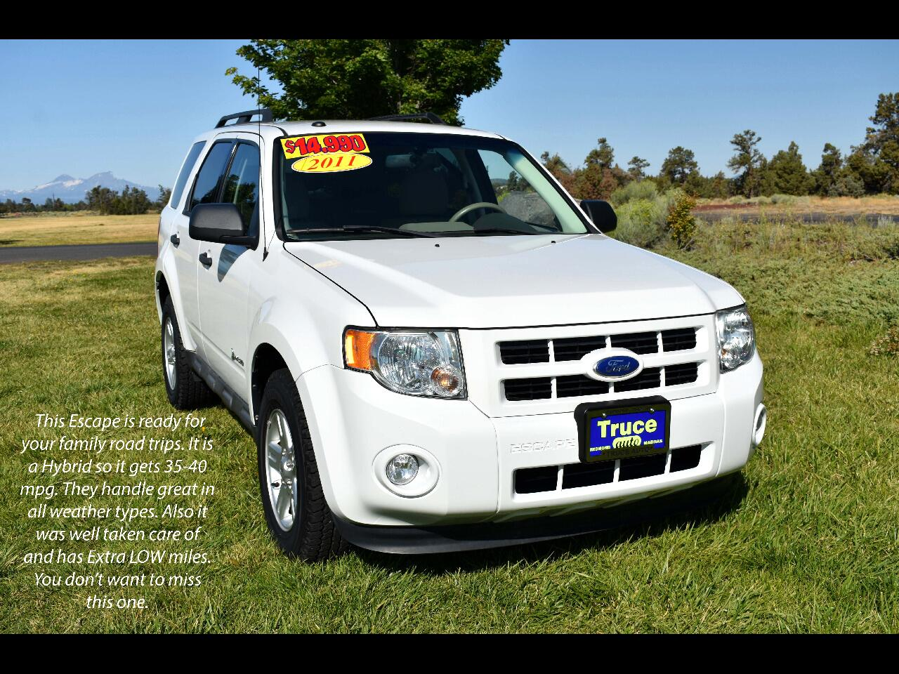 2011 Ford Escape 4WD 4dr Hybrid**LOW MILES**