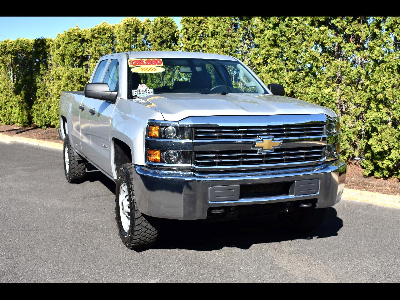 2016 Chevrolet Silverado 2500HD 4WD Double Cab  Work Truck**ONE OWNER**
