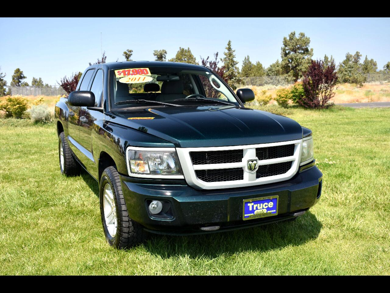 2011 Dodge Dakota 4WD Crew Cab Bighorn/Lonestar
