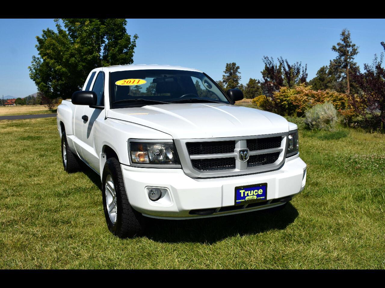 2011 Dodge Dakota 4WD Crew Cab Bighorn/Lonestar 6 1/2' Bed