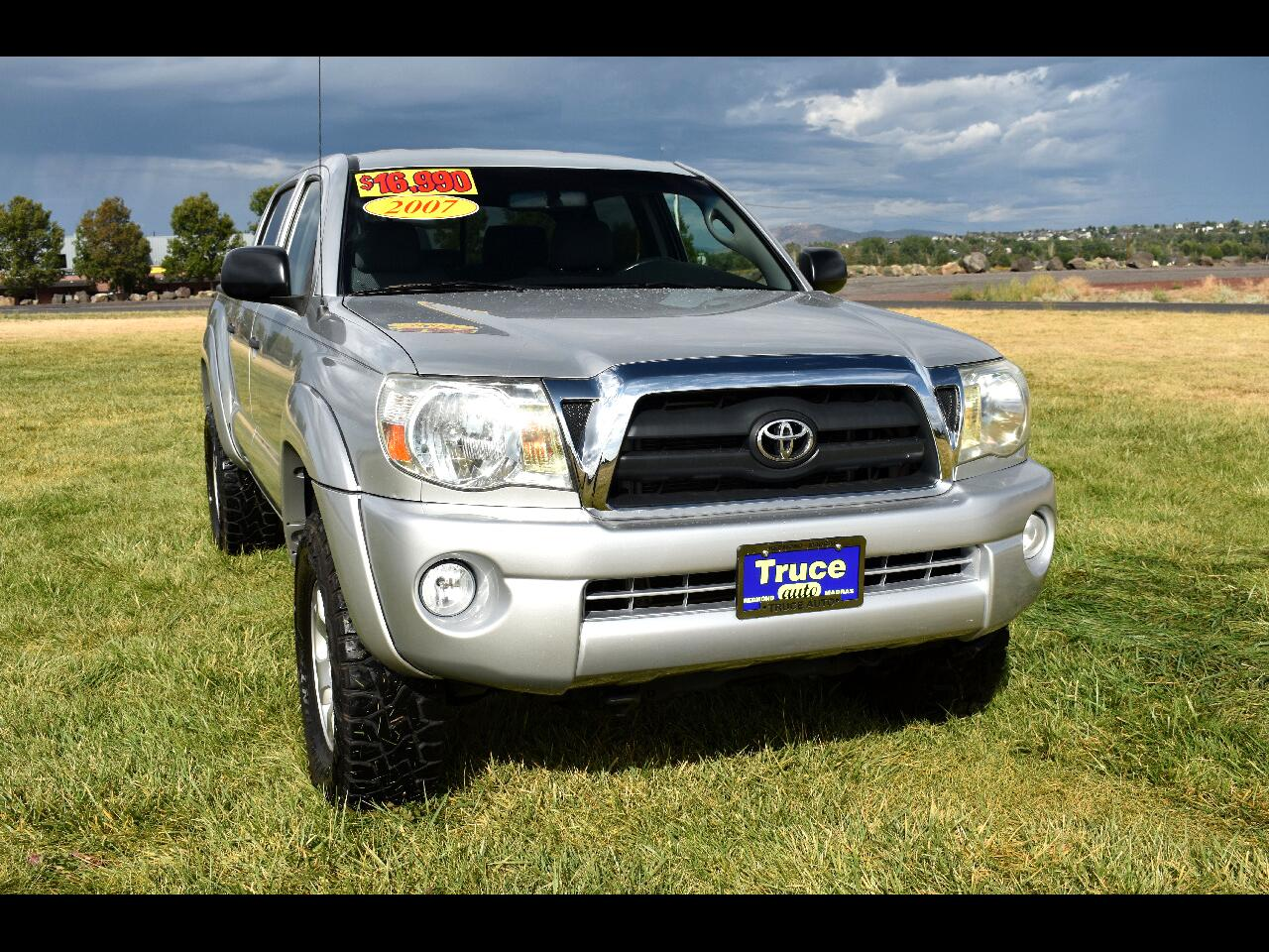 2007 Toyota Tacoma 4WD Double 128 V6 MT **LOW MILES**