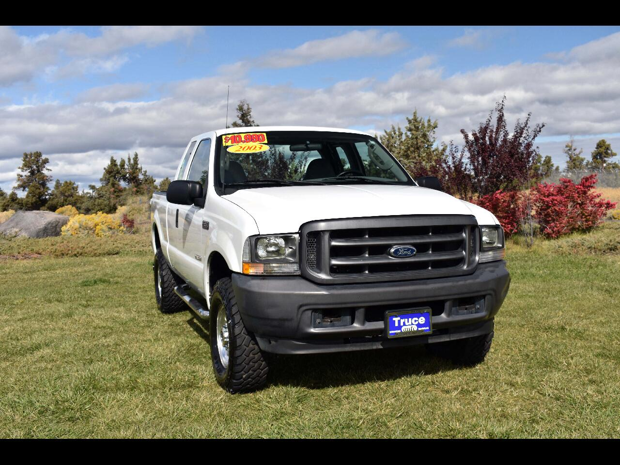 2003 Ford Super Duty F-350 SRW SUPERCAB XL ***DIESEL***LOW MILES***