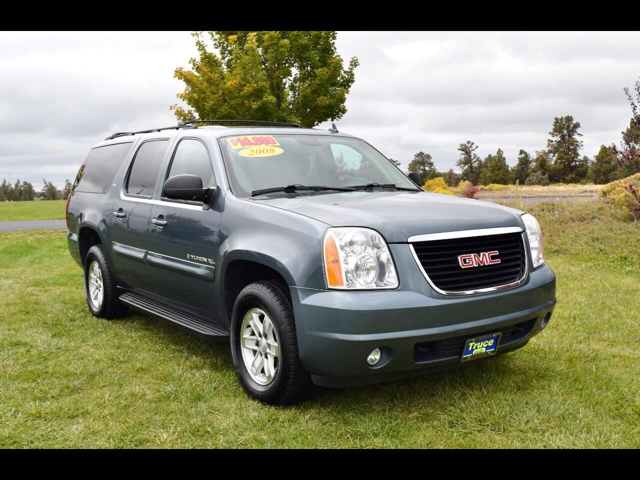 2008 GMC Yukon XL 4WD 4dr 1500 SLT **LOW MILES**THIRD ROW**