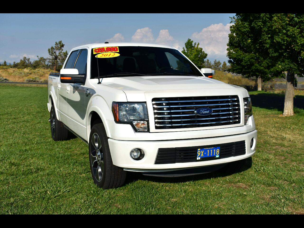 2012 Ford F-150 4WD SuperCrew Harley-Davidson**LOW MILES**