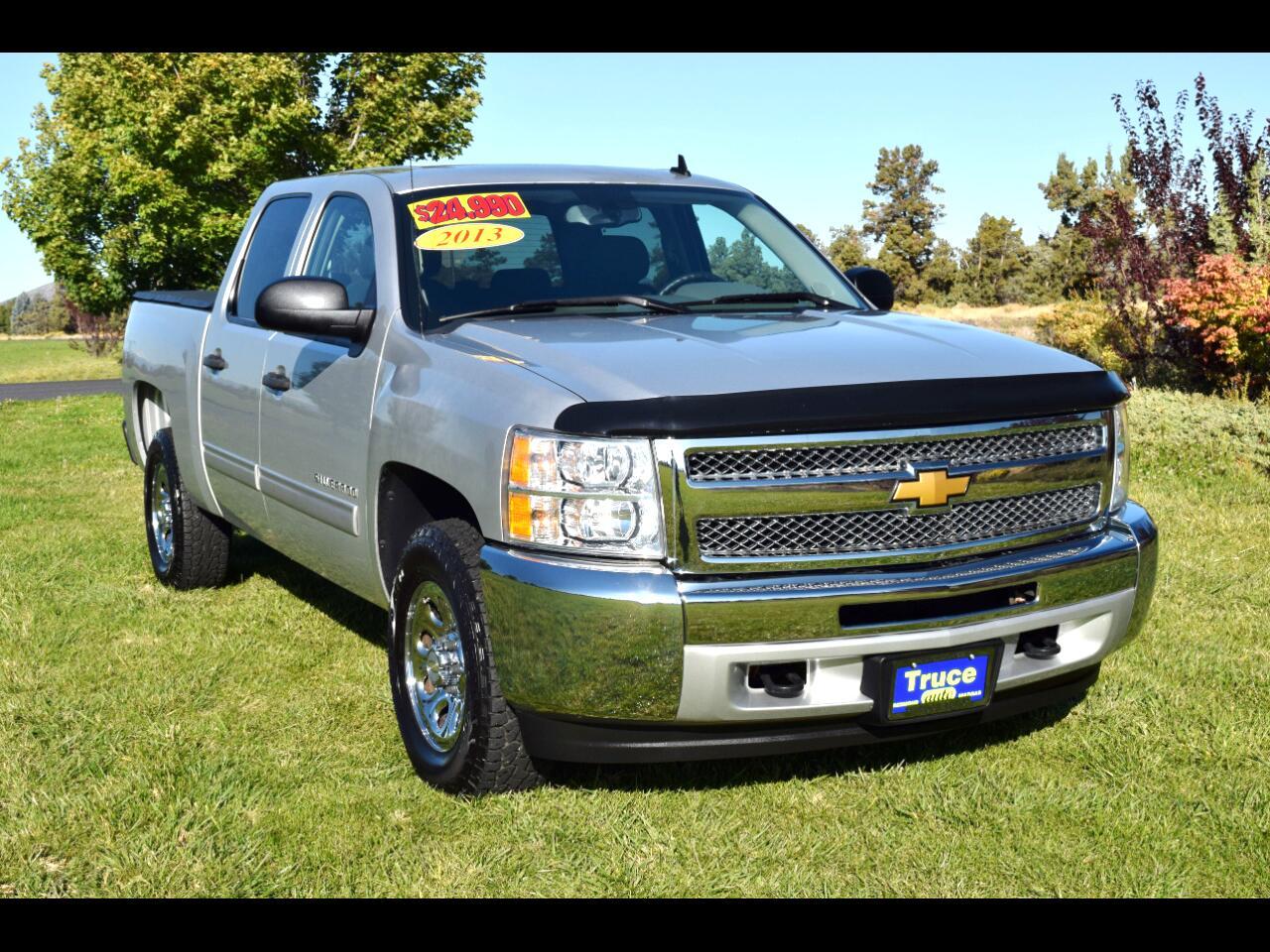 2013 Chevrolet Silverado 1500 4WD Crew Cab LS**LOW MILES**