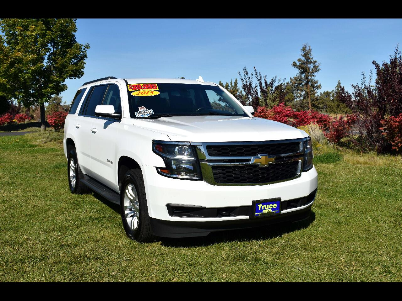 "2015 Chevrolet Tahoe 4WD 4dr LS**ONE OWNER"" W/3RD ROW*"
