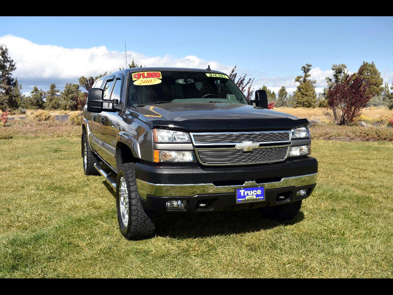 2007 Chevrolet Silverado 2500HD 4WD Crew Cab LT**LOW MILES**DIESEL**6.5' BED