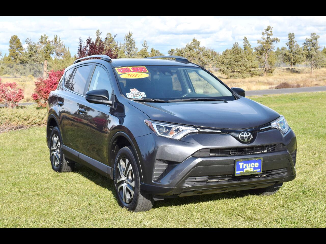 2017 Toyota RAV4 AWD 4dr LE**ONE OWNER**
