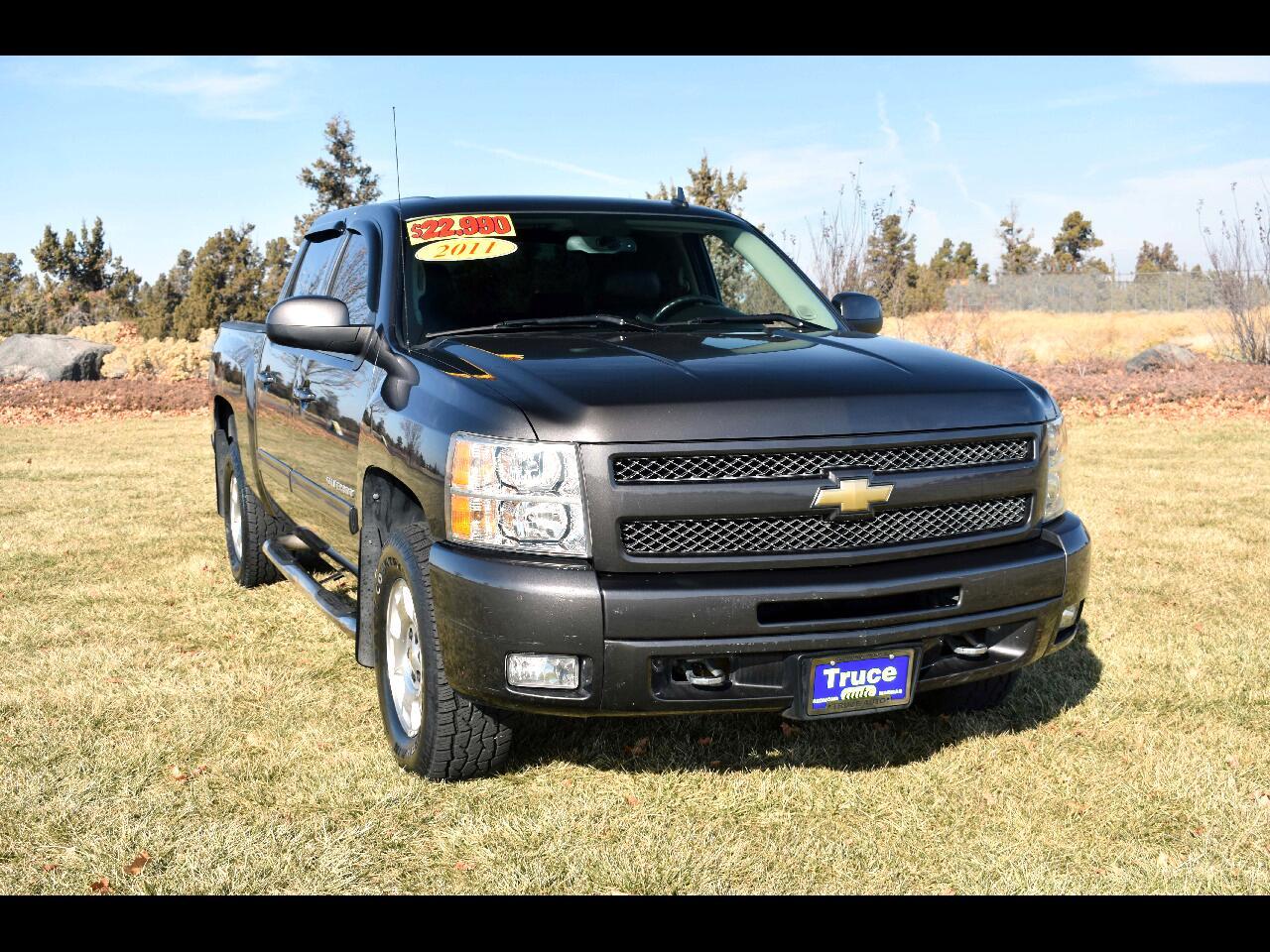 2011 Chevrolet Silverado 1500 4WD Crew Cab LTZ**LOW MILES**