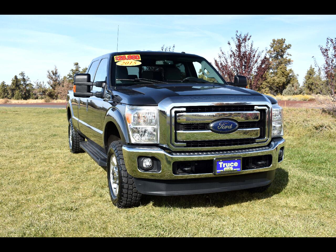 2015 Ford Super Duty F-250 SRW 4WD Crew Cab 8ft Bed**ONE OWNER**