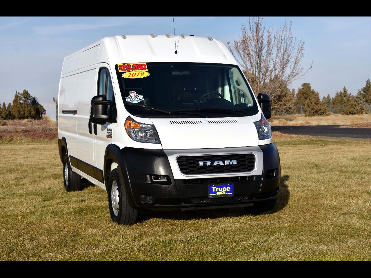 2019 RAM ProMaster Cargo Van HIGH ROOF *ONE OWNER**FWD**