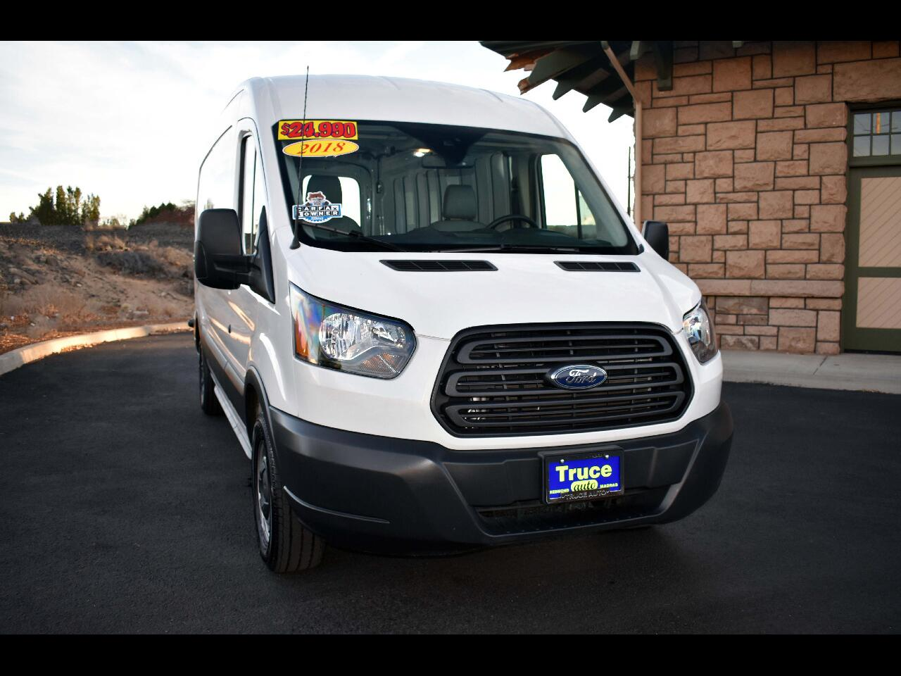 2018 Ford Transit Van Med Rf**ONE OWNER*LOW MILES**