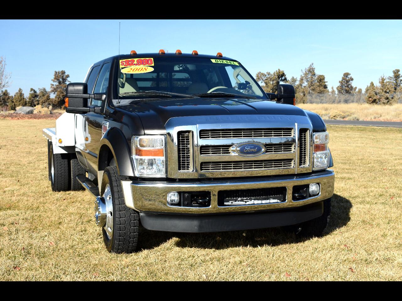 2008 Ford Super Duty F-450 DRW 4WD Crew Cab King Ranch*DIESEL**LOW MILES**