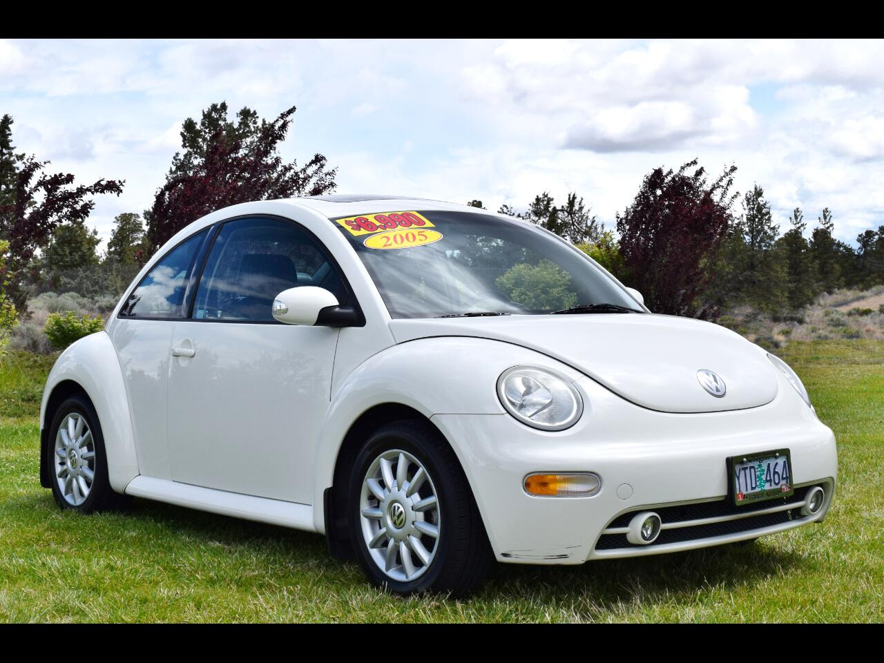 Volkswagen New Beetle Coupe 2dr Cpe GLS Manual 2005