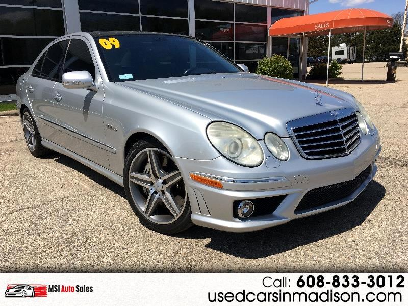 2009 Mercedes-Benz E-Class E63 AMG Sedan