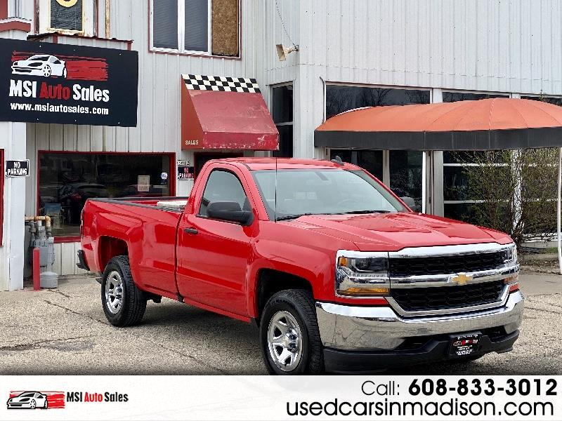 Chevrolet Silverado 1500 Work Truck Long Box 4WD 2017