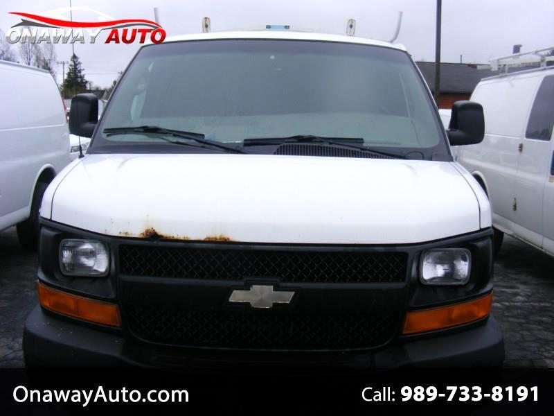 2010 Chevrolet Express Cargo Van RWD 2500 155