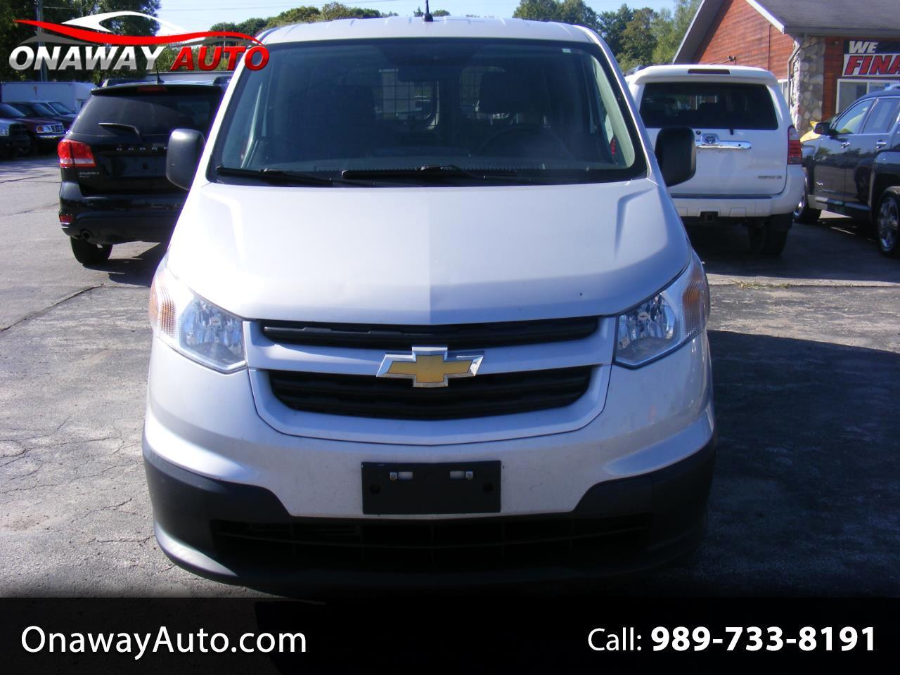 2015 Chevrolet City Express Cargo Van FWD 115