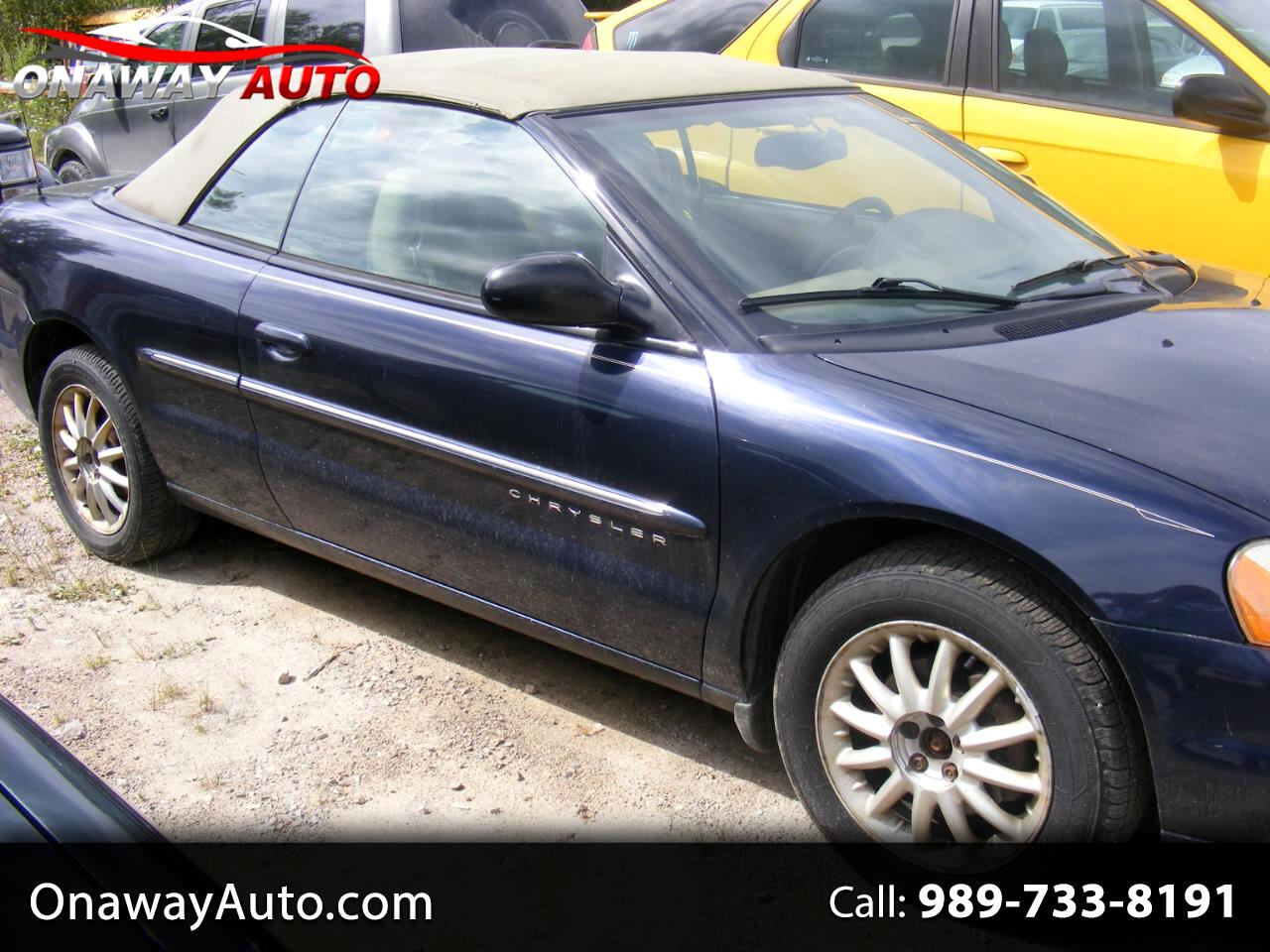 2001 Chrysler Sebring 2dr Convertible LXi