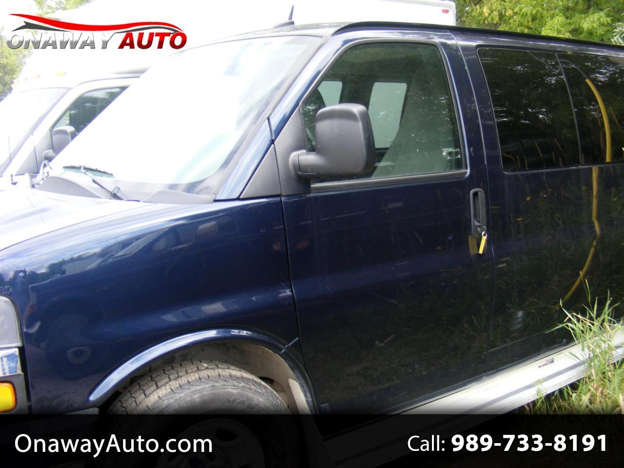 "Chevrolet Express Cargo Van 1500 135"" WB YF7 Upfitter 2001"