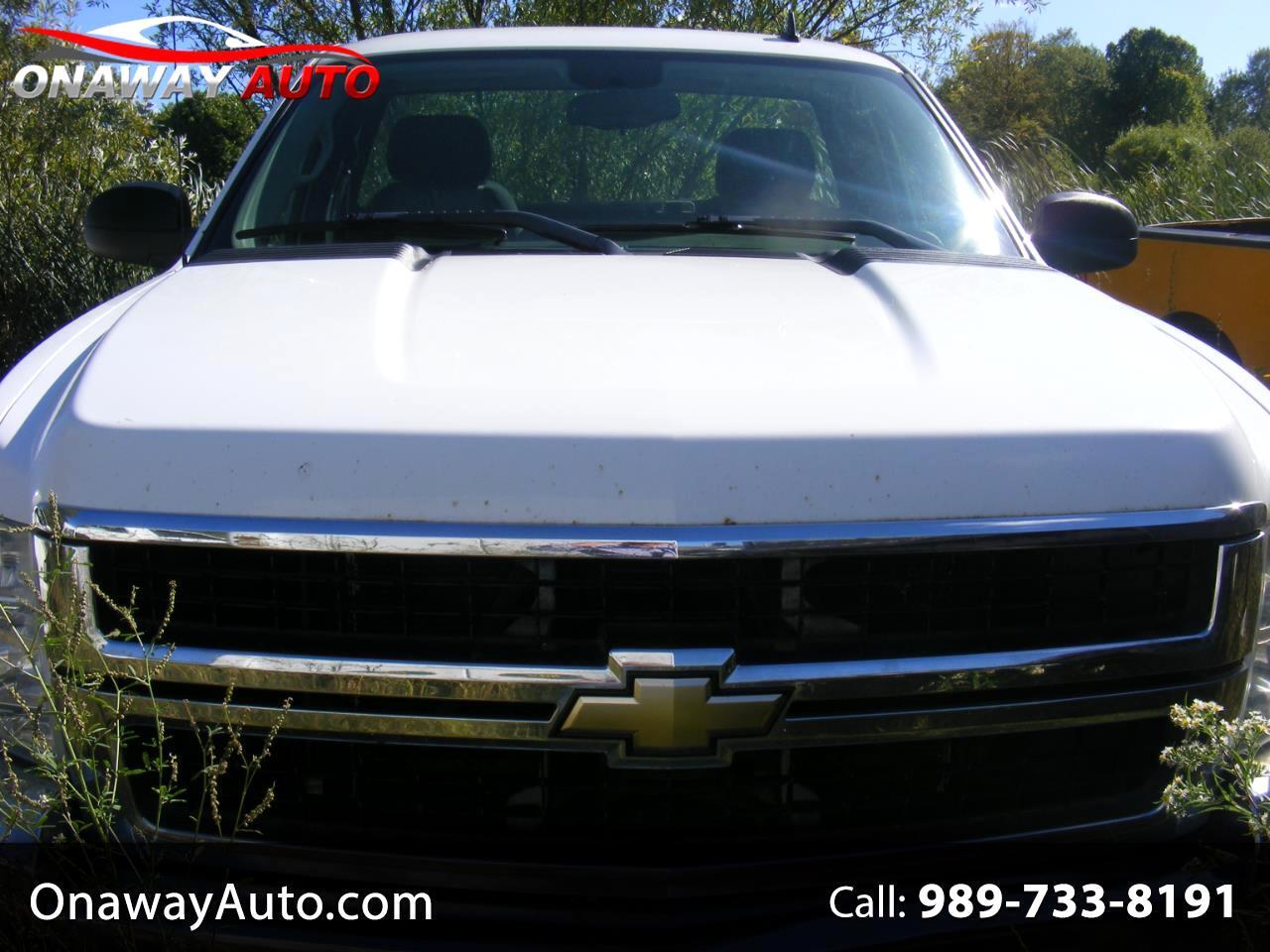2008 Chevrolet Silverado 2500HD 2WD Reg Cab 133