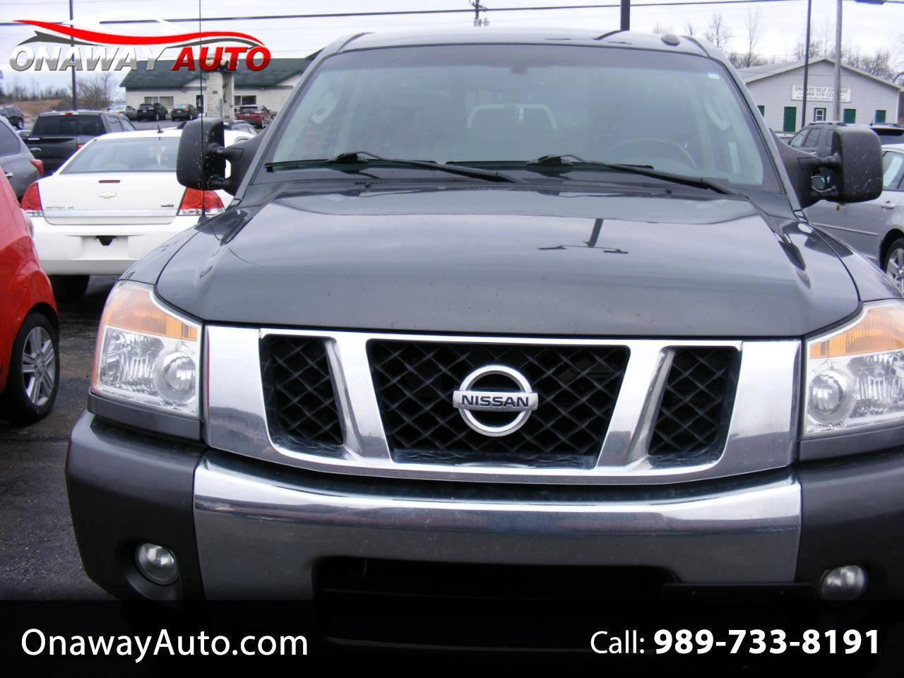 Nissan Titan 4WD Crew Cab SWB SV 2011