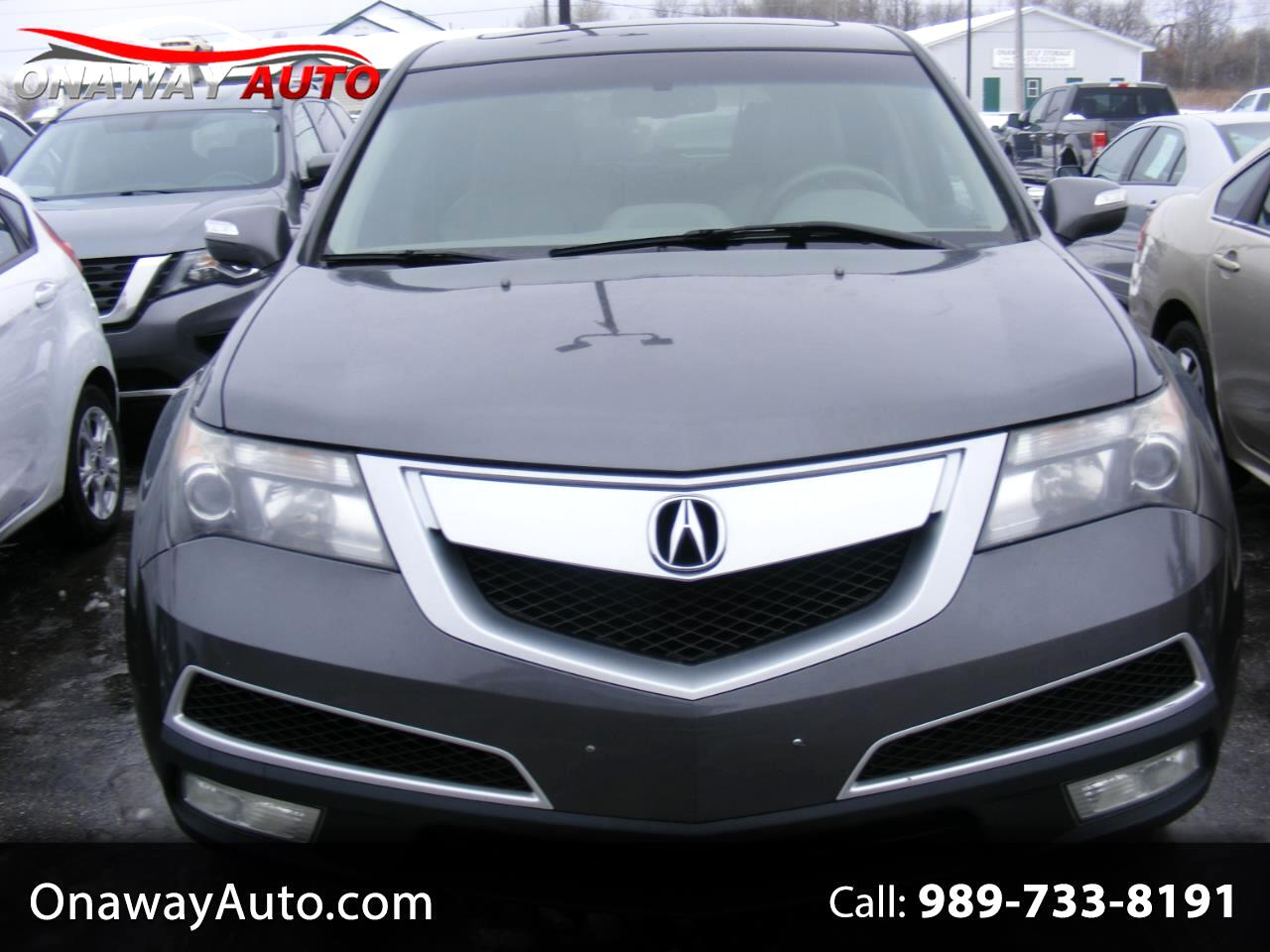 Acura MDX AWD 4dr Technology/Entertainment Pkg 2010
