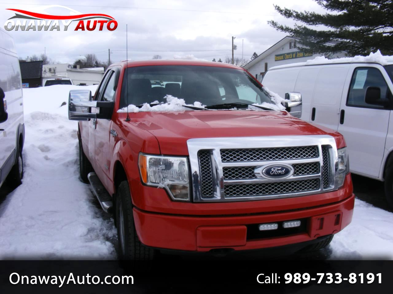 "Ford F-150 4WD SuperCab 163"" XL w/HD Payload Pkg 2011"