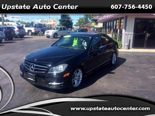 2012 Mercedes-Benz C-Class C300 4MATIC Sedan